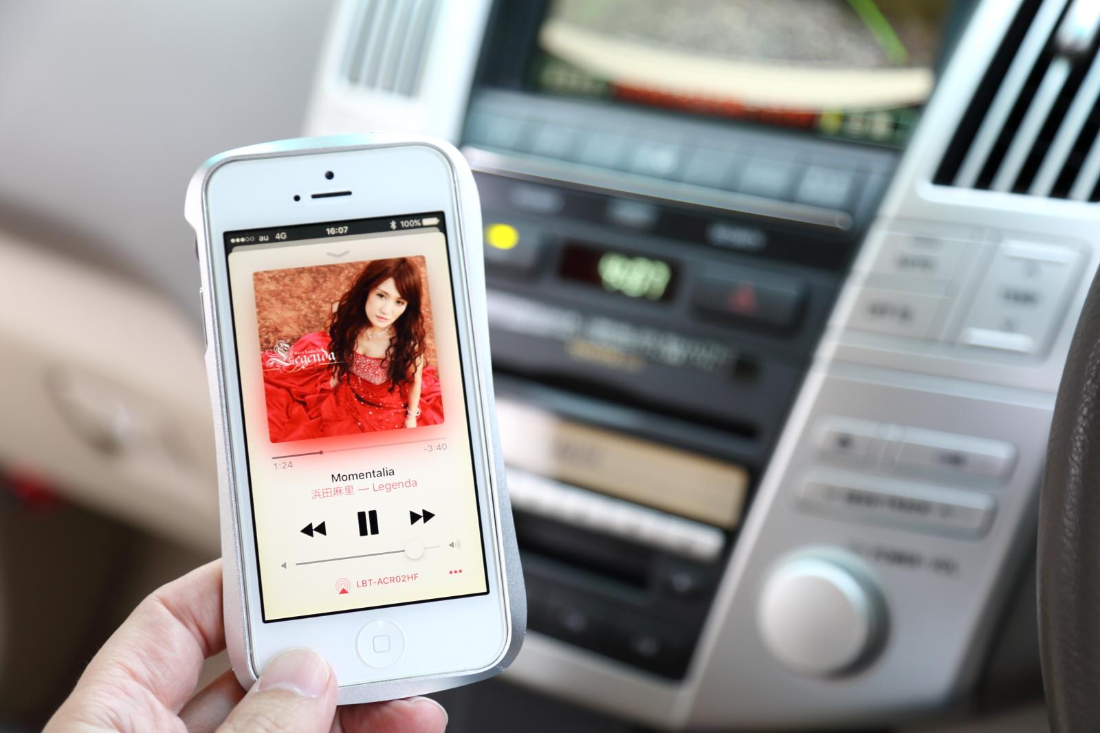 iPhoneの音楽プレイヤー