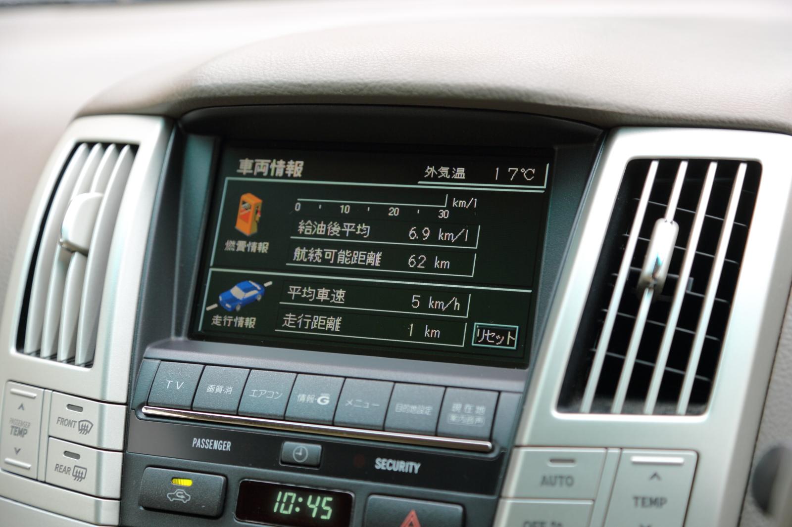 車両情報(燃費情報)